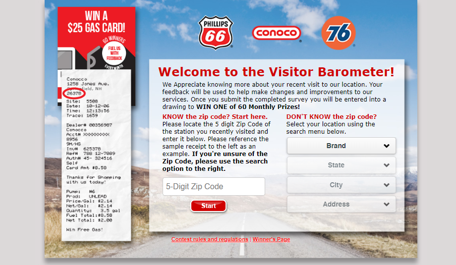 Phillips66 Customer Survey