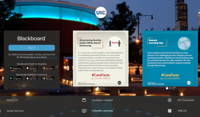 UIC Blackboard logo
