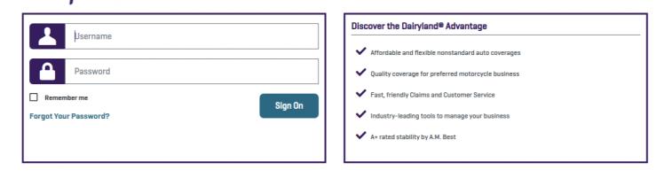 Agents Dairyland Insurance Login