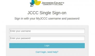 JCCC Signin