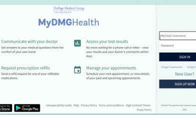 Mychart Dupage Medical Login