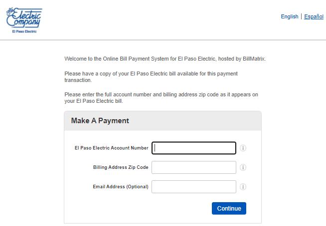 El Paso Electric BillMatrix