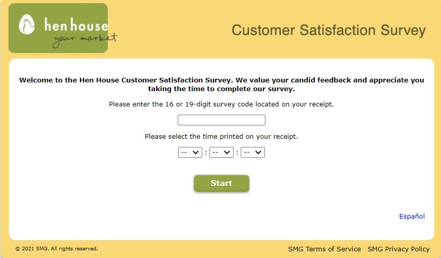 Henhousefeedback Survey