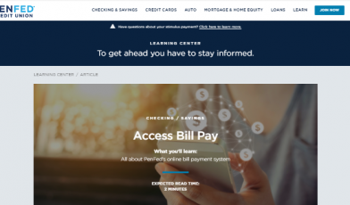 PenFed Credit Union Login