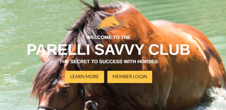 Parelli Savvy Club Logo