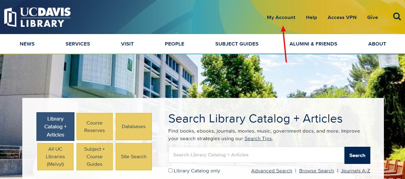 UC Davis Library Logo