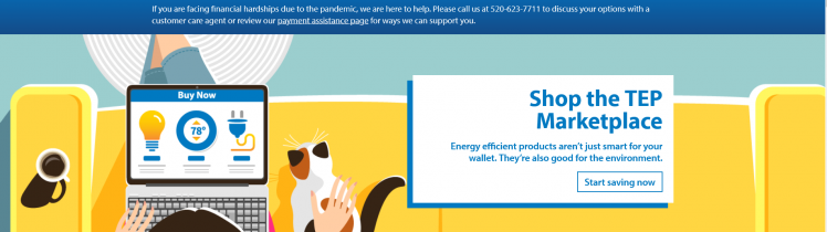 tucson electric power login for bill pay