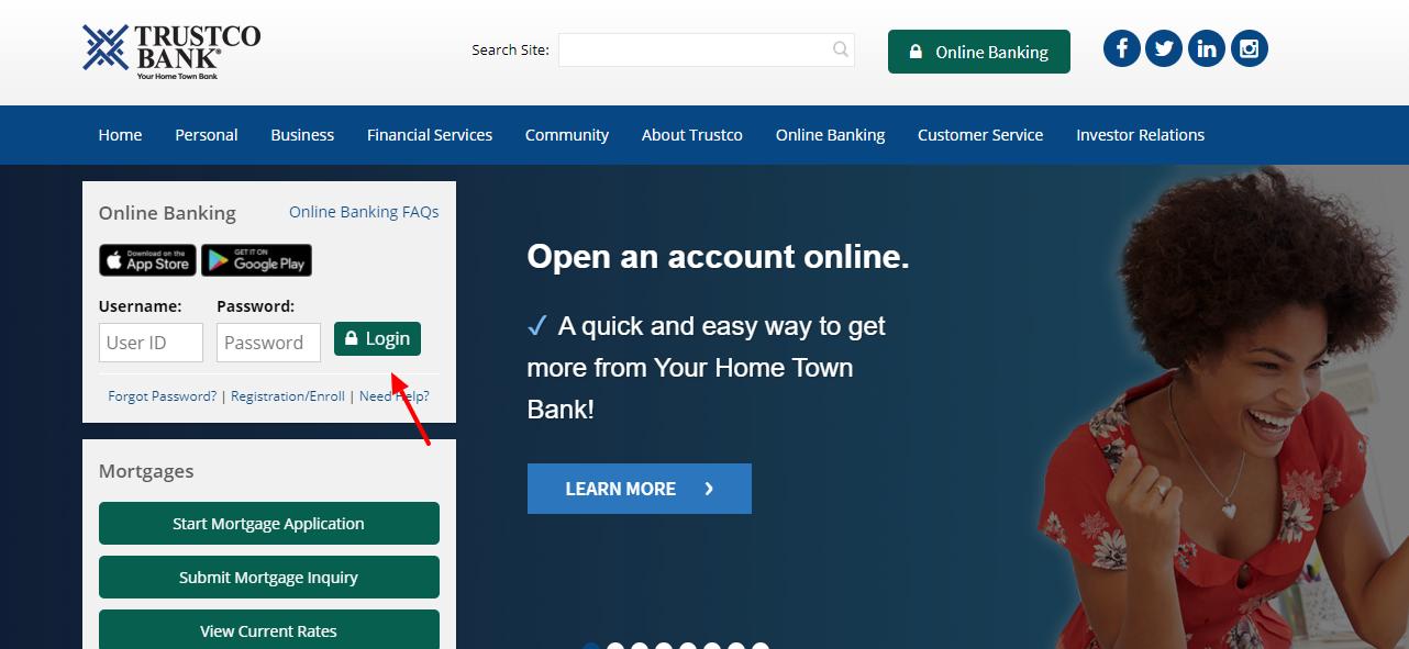 Trustco Bank Login