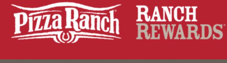 pizza ranch rewards card logo
