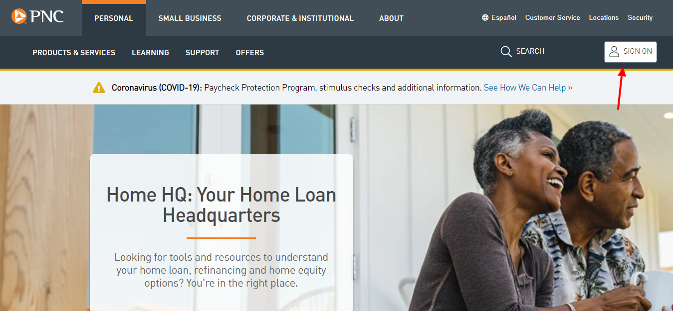 pnc home Insight login