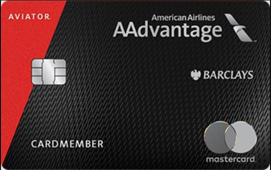 aadvantage aviator red mastercard