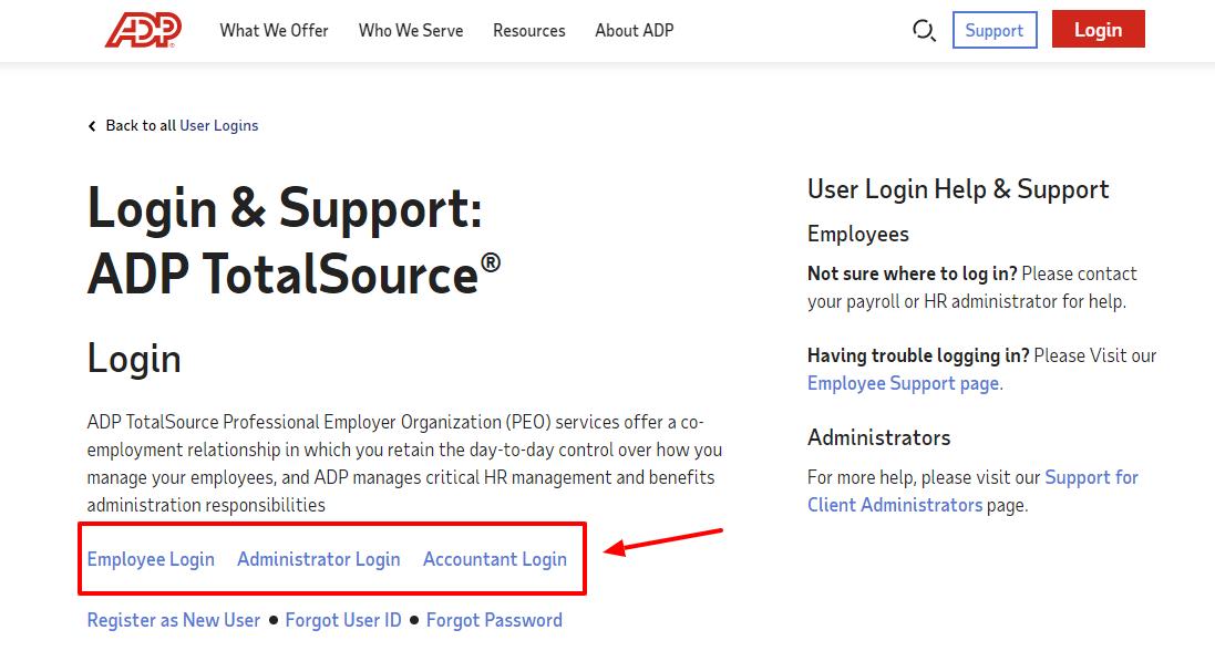 adp my total source login
